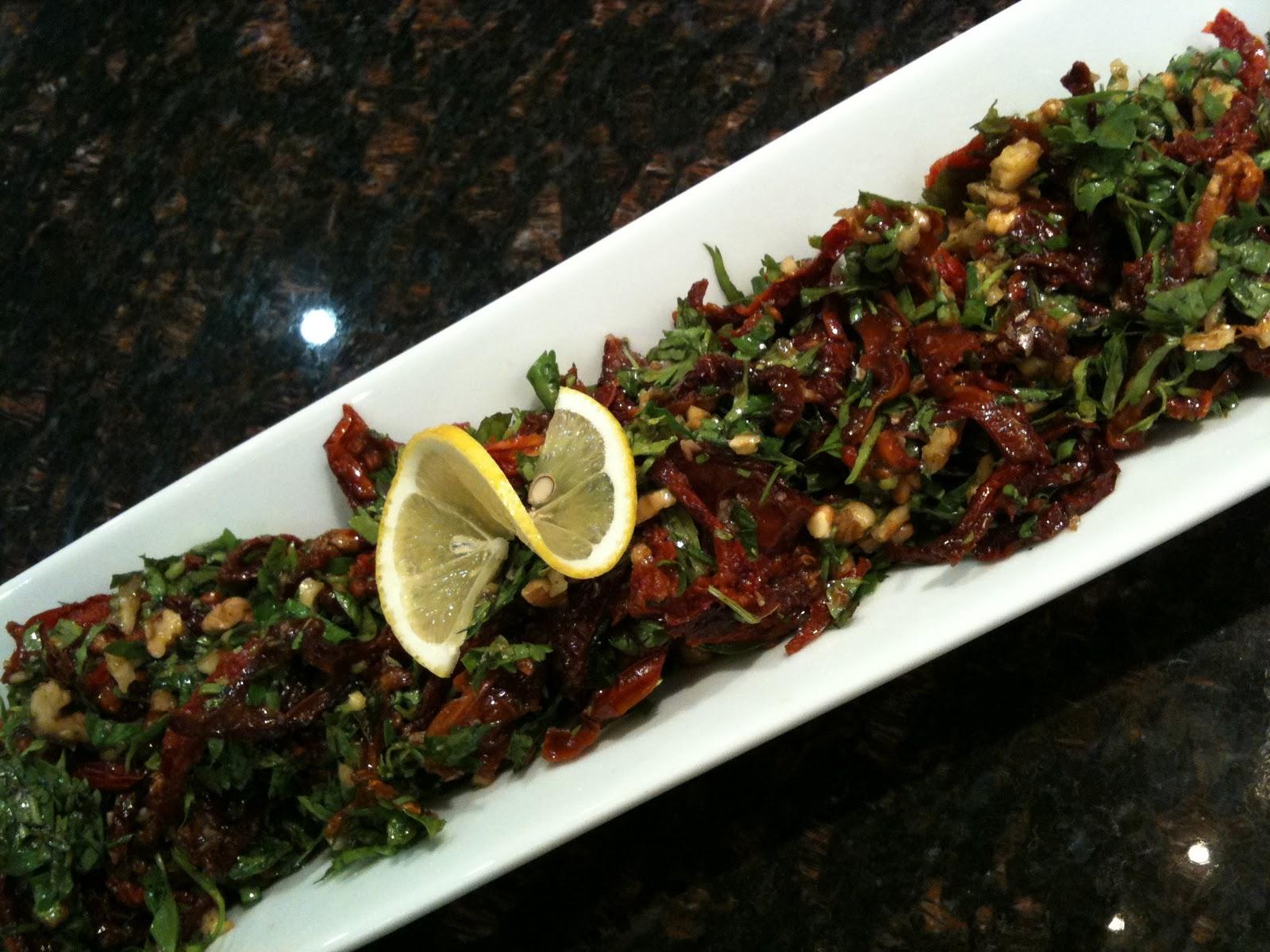 Kurutulmuş Domates Salatası