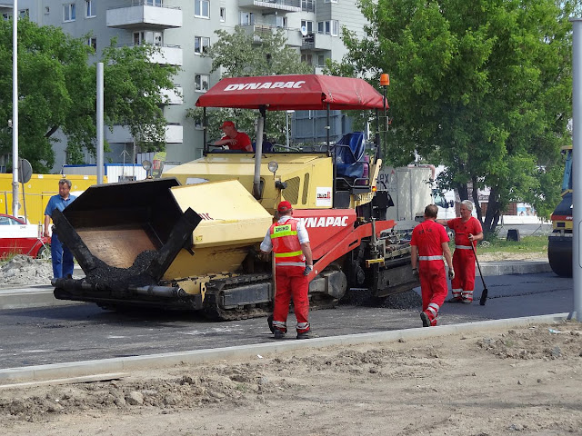 Modernizacja Górczewskiej w rejonie Lazurowej