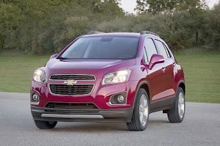 Noul SUV Trax de la Chevrolet