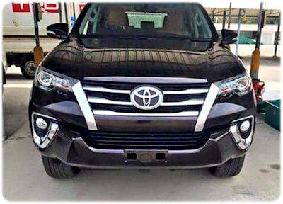 Gambar Wajah Depan All New Toyota Fortuner 2016