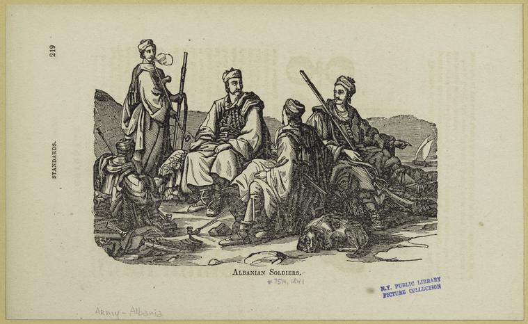 Soldats Albanois-Albanian Soldiers(Koroni-Greece)