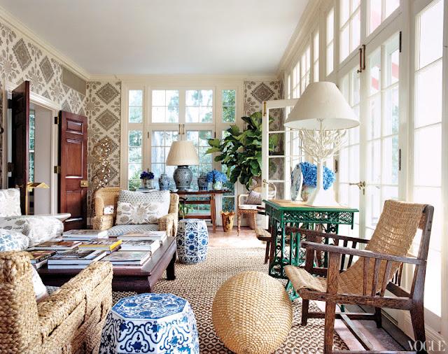 Tory Burch 39 S South Hampton Home Carmen Vogue