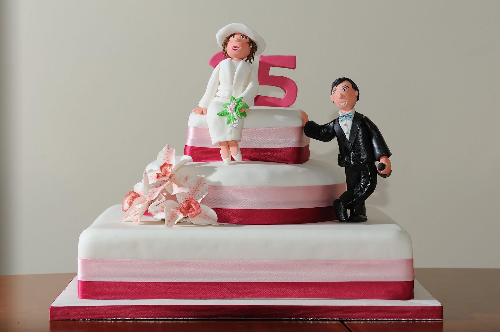 Capricci di torte 25 anni di matrimonio valgano tanta for Immagini 25 anni matrimonio