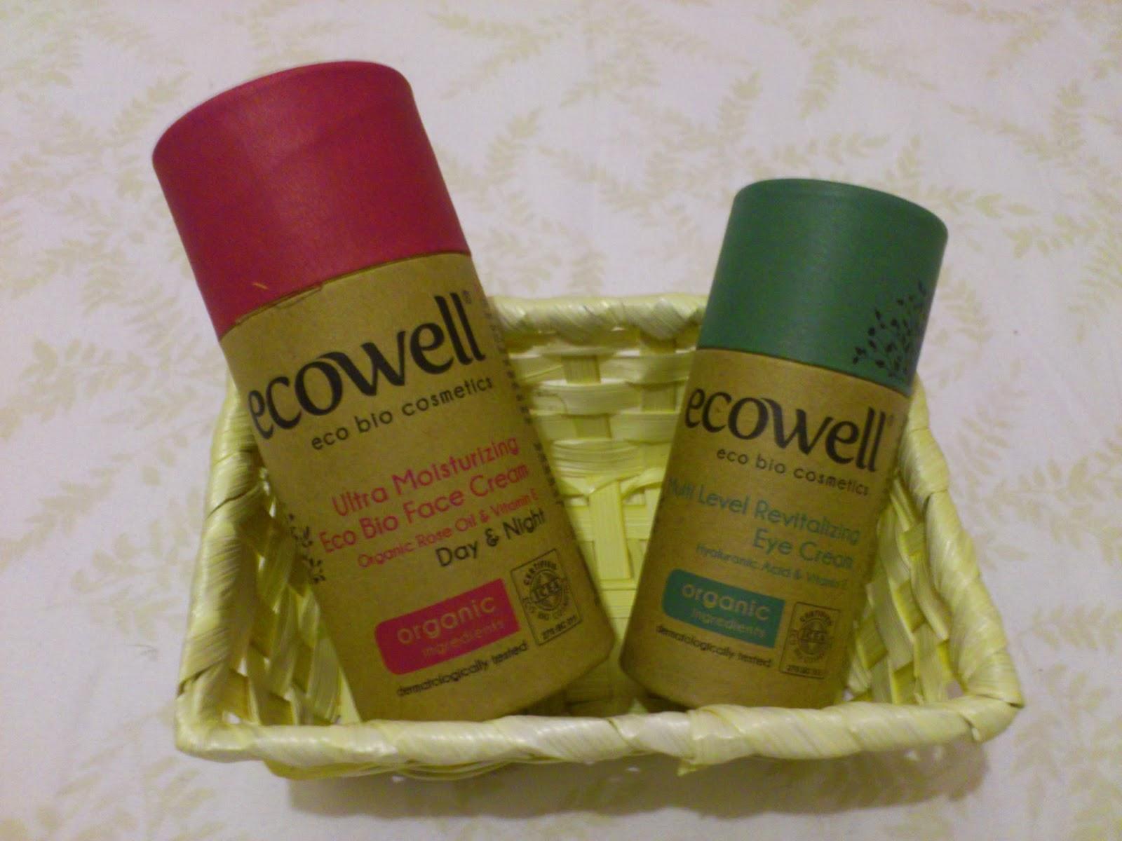 Ecowell Eco Bio Face Cream & Eye Cream
