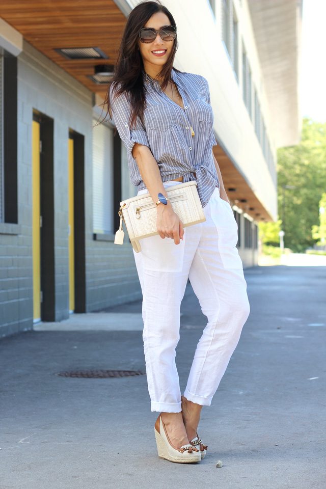 Neutral Tones with Easy Breezy Linen | Wunder Bliss