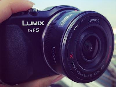 Fotografia della Panasoni Lumix GF5
