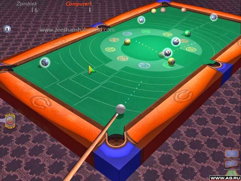 Download free games pc full version download 3d ultra for Pool game show