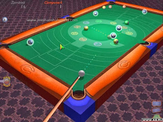 Download 3d cool pool snooker game