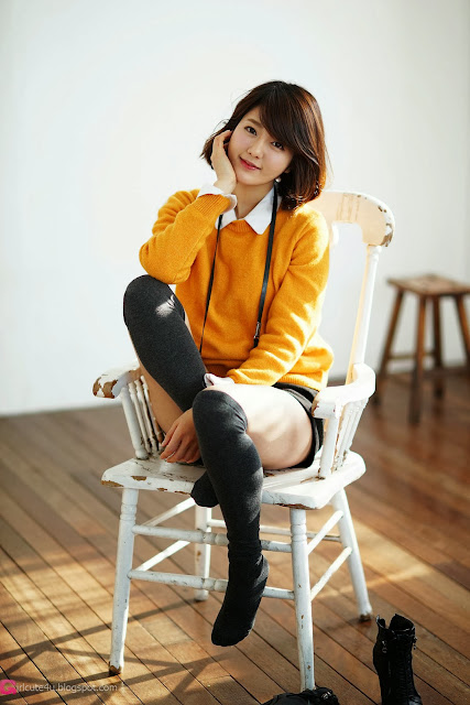 4 Bo Mi in yellow - very cute asian girl-girlcute4u.blogspot.com