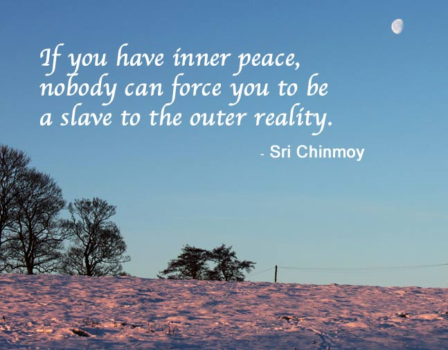 Inner peace now