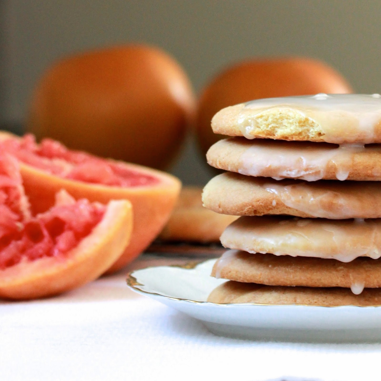 Grapefruit Cookies