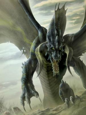 dragon negro