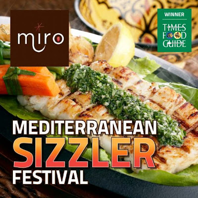 Mediterranean food festival at miro Mumbai