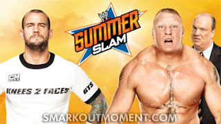 Watch WWE SummerSlam Punk vs Lesnar Match Online YouTube