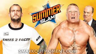 Watch WWE SummerSlam Punk vs Lesnar Match Online YouTube