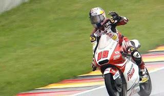 Khairul Idham Pawi Juara MotoGP Moto3 German