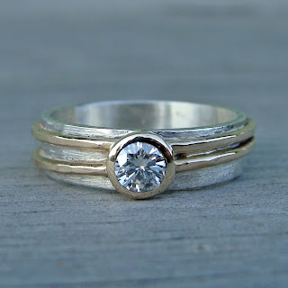 moissanite bridal jewelry