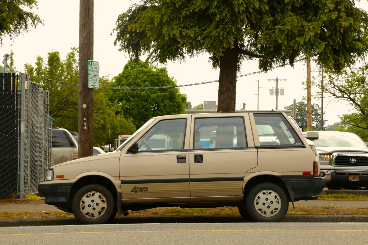 1986 Nissan Stanza 4wd wagon.