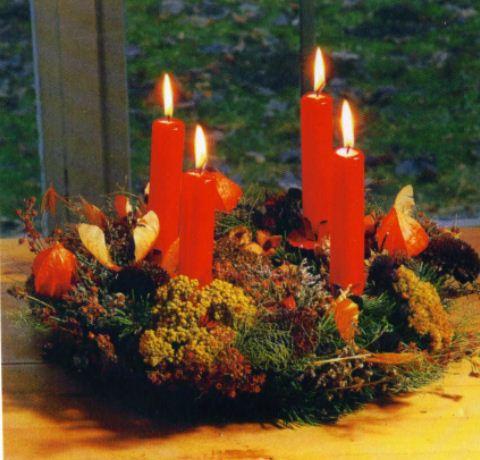 Como hacer arreglos navide os para la mesa lodijoella - Como hacer centros navidenos ...