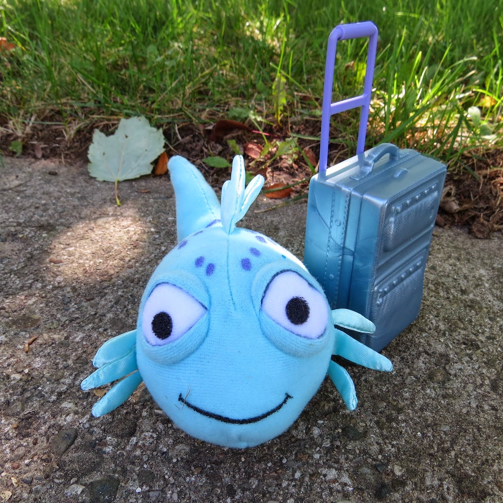 Pout-Pout Fish Goes to School Book Tour September 15-26, 2014!