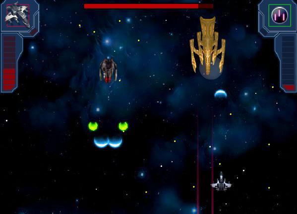 harika bir uzay oyunu uzay savaş gemisi düşmanlara ateşşş