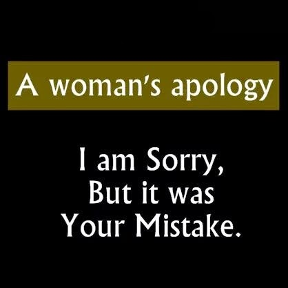 A Woman s Apology
