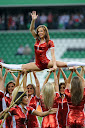 Zdjęcia Polish Girls on th Football Stadium