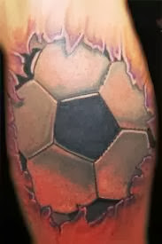 Tatuagem de Futebol - Soccer Tattoo