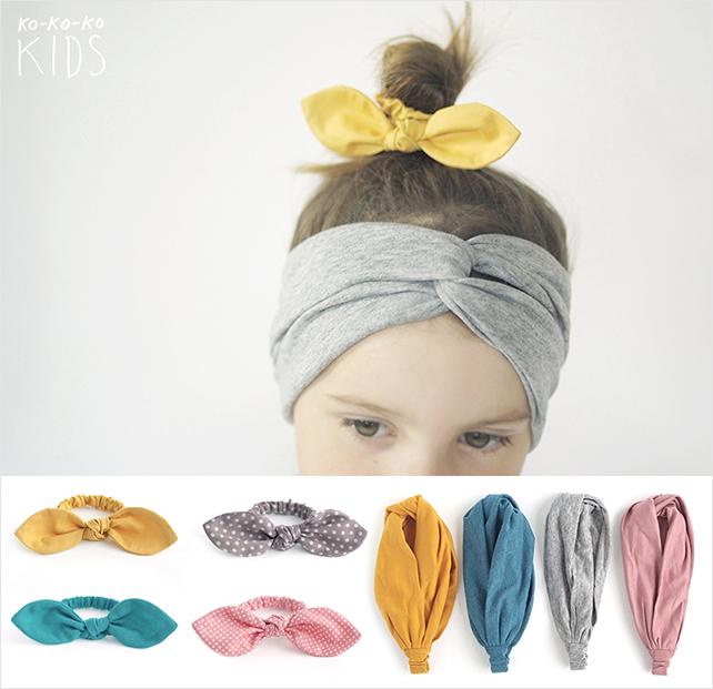 Сшить детскую повязку на голову своими руками