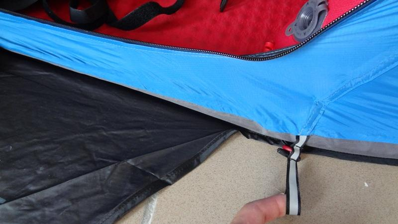 Ground Anchorage Loop in Mammut Bivy Tent & Mammut Lodge Bivy Tent - First Impression