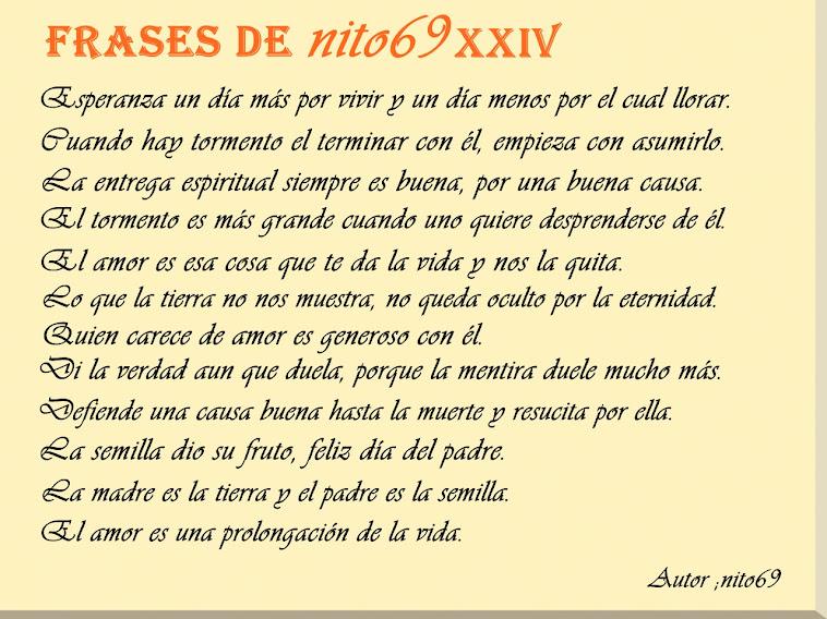 FRSES DE nito69 XXIV