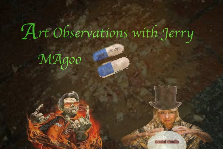 ART OBSERVATIONS WITH JERRY MAGOO