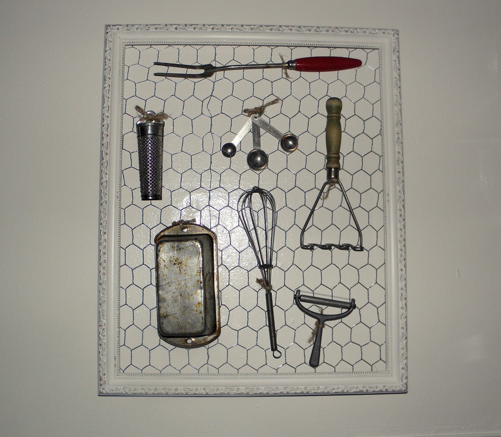 Vintage Kitchen Utensils Images: Shabby Love: Easiest Project Ever