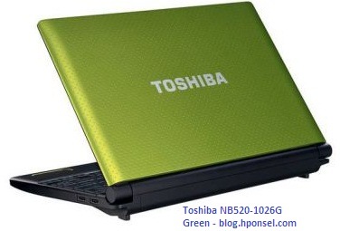 Gambar Netbook Toshiba NB520-1026G Green