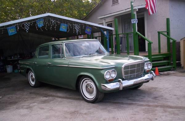 Original 1962 Studebaker Lark Sedan