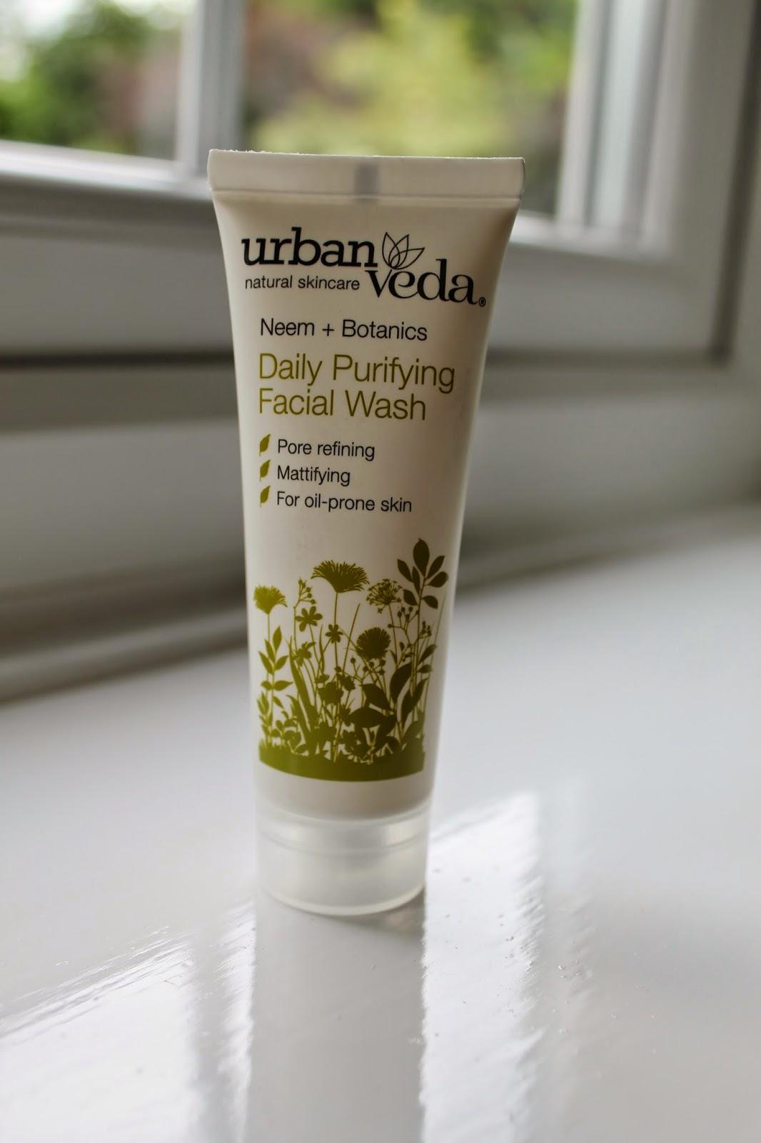 Love Me Beauty Box June 2014 Urban Veda Purifying Daily Facial Wash