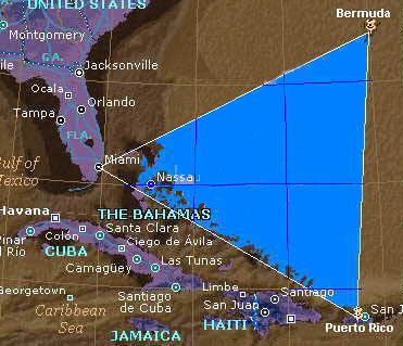 Segitiga Bermuda - 10 Keajaiban Alam Yang Misterius