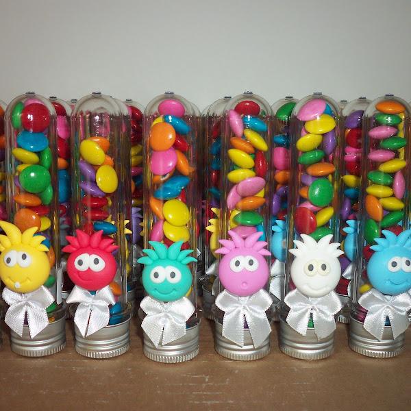 Lembrancinhas de Puffles Club Penguin