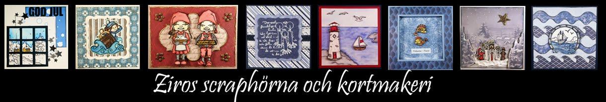 Ziros scraphörna och kortmakeri