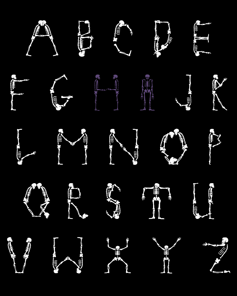 Insane image intended for halloween letters printable