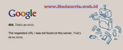 Cara Mengatasi Error Domain 404 Domain Tanpa WWW