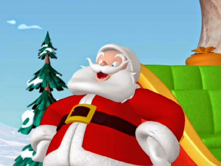 santa claus bye mickey mouse - Mickey Mouse Clubhouse Christmas