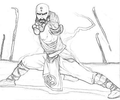 Diablo 3 Monk Cartoon Yumiko Fujiwara