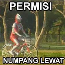 Ultraman : Permisi Numpang Lewat