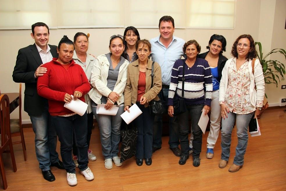 El intendente Raimundo entregó pensiones Ley 5110