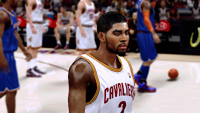 NBA 2K13 Kyrie Irving HD TexMod Face Texture