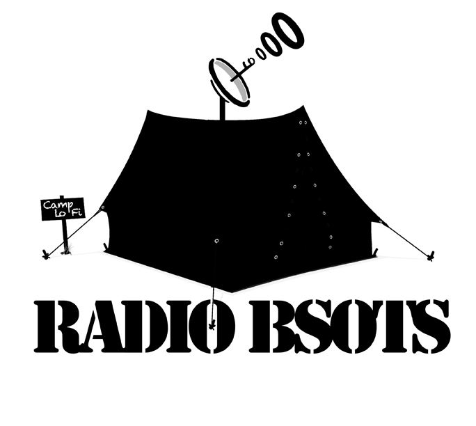 Radio BSOTS logo designed by William D. Jackson