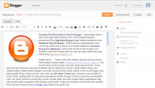menulis artikel diblog