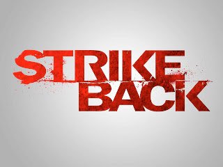 Strike Back Text Logo HD Wallpaper