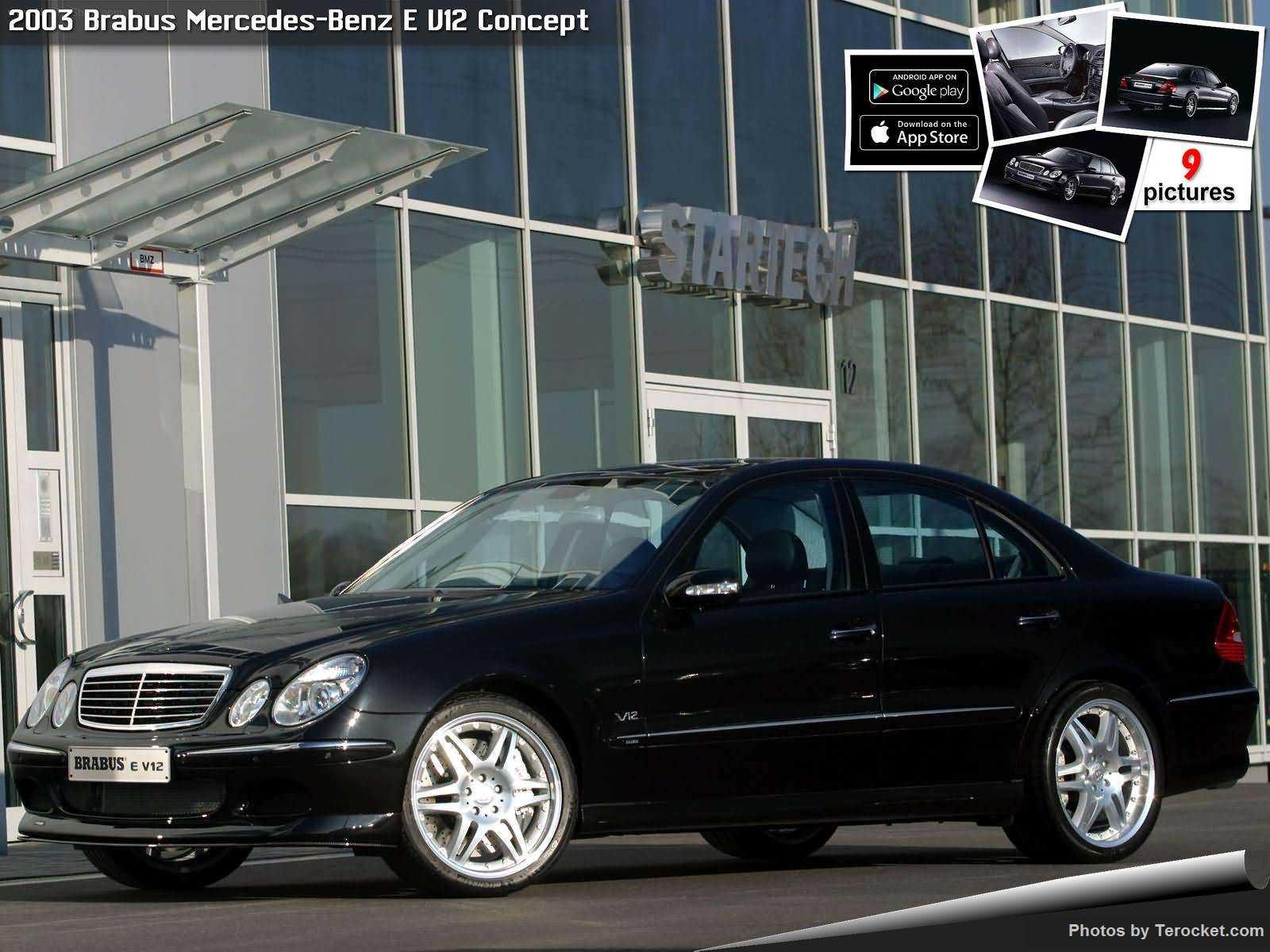 Hình ảnh xe ô tô Brabus Mercedes-Benz E V12 Concept 2003 & nội ngoại thất